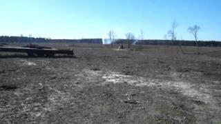 Steven McElroy breaking a Mule to ride - Part 2