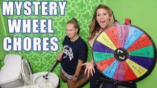 Mystery Wheel of Chores! How To get your kids to do chores