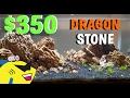 $350 DRAGON STONE Planted Aquarium Aquascape