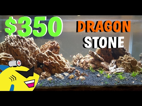 Ordinaire $350 DRAGON STONE Planted Aquarium Aquascape