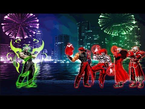 KOF MUGEN: Archimonde VS Bosses Blood Team!!!