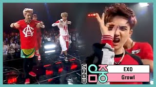 Gambar cover [HOT] EXO - Growl, 엑소 - 으르렁, Music core 20130831