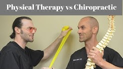Chiropractic vs Physical Therapy