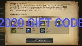 2020 GIFT CODE - NEW GIFT CODE - King of Avalon KOA