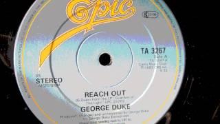 """George Duke  - Reach Out. 1983 (12"""" Soul Classic)"""