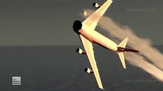 TWA Flight 800 - Crash Animation 3