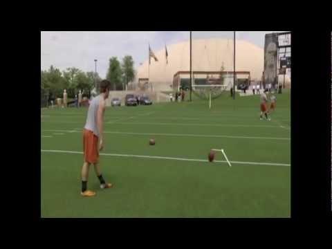 NFL Draft 2012 - Justin Tucker, Texas Kicker - Pro Day - 3/20/12