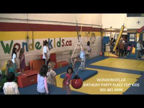 Toronto kids birthday party place