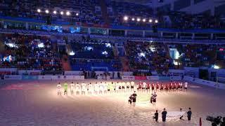 Представление команд Фламенго Бразилия и Аланьяспор Турция на Чемпионате мира по пляжному футбол