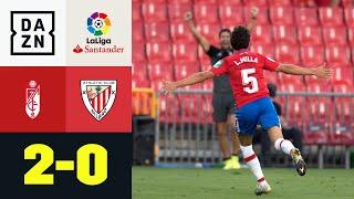 Granadas neue Granate Luis Milla trifft bei LaLiga-Debüt: Granada - Bilbao 2:0 | LaLiga | DAZN
