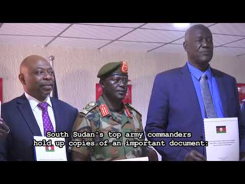South Sudan's army unveils Action Plan against Conflict-Related Sexual Violence