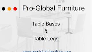Stylish Table Bases & Table Legs For Sale Online