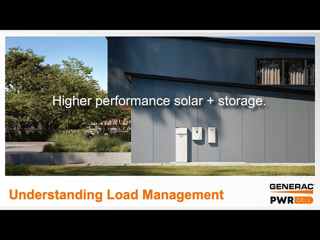 Generac PWRcell | Understanding Load Management | Energy Storage | Presented by Soligent
