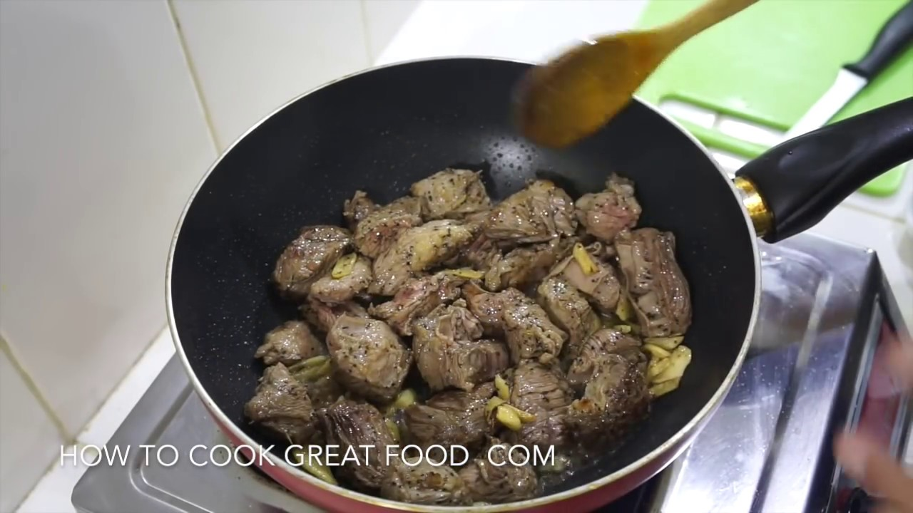 how to cook beef stir fry tender