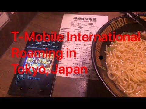 T-Mobile International Roaming In Japan 2019! (Testing Data Speed/Navigation)