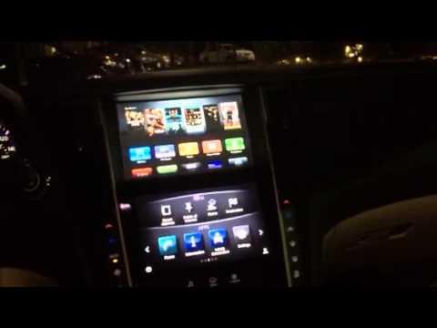 Infiniti Apple Car Play >> Infiniti Q50 Running Apple Tv Youtube