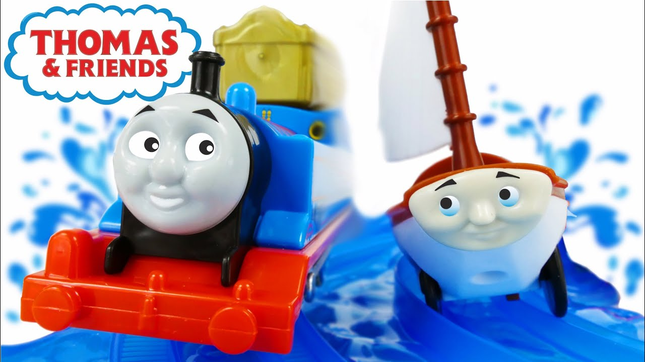 Fisher price thomas amp friends trackmaster treasure chase set new - Trains For Children Video Thomas And Friends Treasure Chase Set Cartoon From Toys Youtube