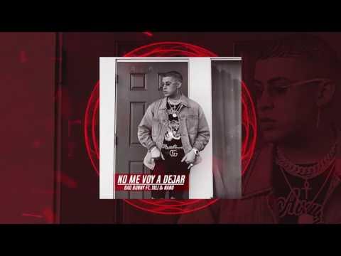Bad Bunny -  No Me Voy A Dejar ( Audio Official ) Ft. Tali Y Nano