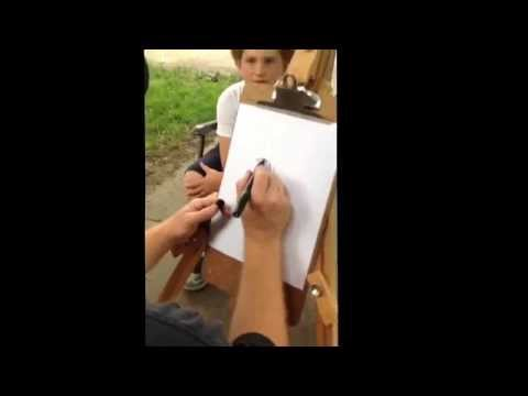 Caricature Tutorial for drawing cartoons of friends Watervliet Albany Latham NY