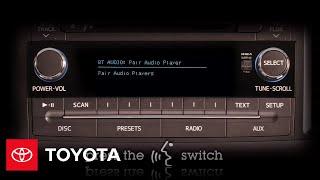 2011 - 2012 Сієнна Як: Bluetooth Потокове Аудіо (Без Навігації)   Тойота