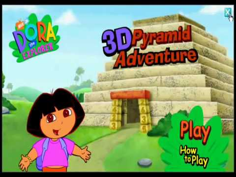 Dora The Explorer Dora 3d Pyramid Adventure Game Show