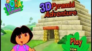 Dora The Explorer   Dora 3D Pyramid Adventure   Game show