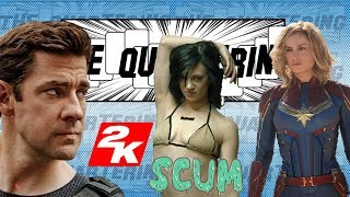 Brie Larson FAILS, Jack Ryan Is Toxic, 2K Games eBegs & Asia Argento Defines Scum