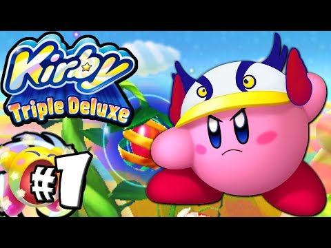 Kirby Triple Deluxe: Hypernova Super Ability! World 1 PART 1 Nintendo 3DS Gameplay Walkthrough
