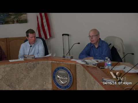 CITY OF COTTONWOOD PLANNING & ZONING COMMISSION April 16 2018