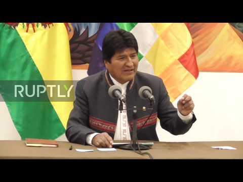 Bolivia: Evo Morales Declares Victory In Presidential Elections