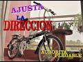 #1 Ajustar la direccion de Bicicleta Plegable (Aurorita)