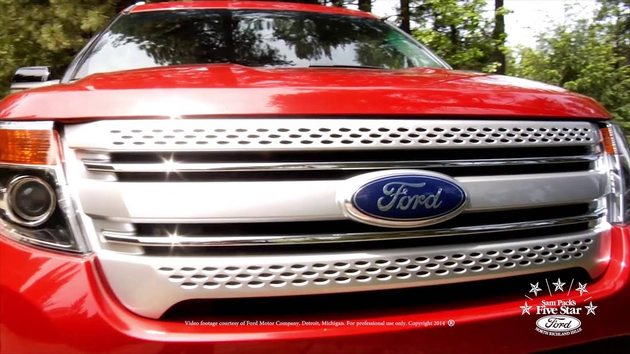 2015 Ford Explorer Five Star Ford NRH