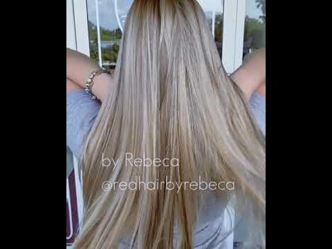 Balayage Ombre Lowlights Blonde Hair Long Hair Straight Hair