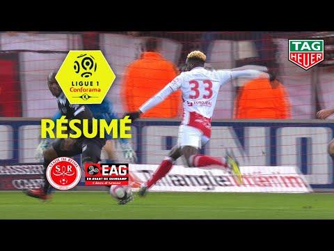 Stade de Reims - EA Guingamp ( 2-1 ) - Résumé - (REIMS - EAG) / 2018-19