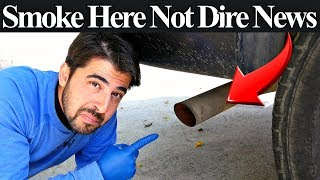 Top 5 Reasons Your Car Is Smoking Out the Tailpipe - And How to Diagnose Them