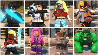 All Teen Titans and Young Justice Characters in LEGO DC Super Villains