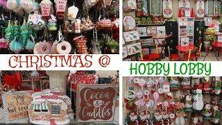 HOBBY LOBBY * CHRISTMAS DECOR 2019 / COME WITH ME