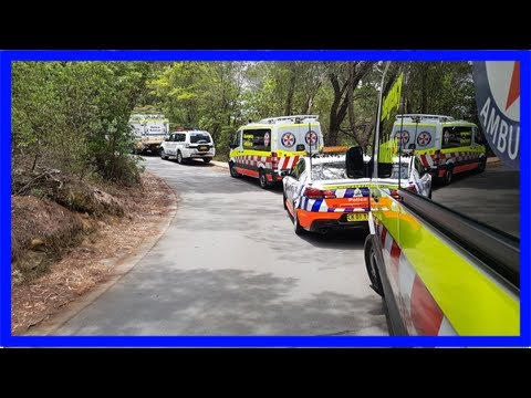 Parks worker killed, two others trapped after cliff fall in blue mountains