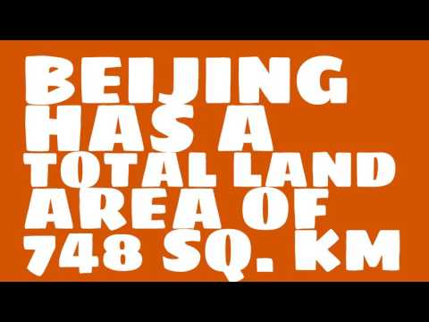 How does the population of Beijing rank?