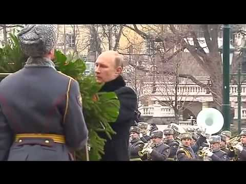 Vladimir Putin laid a wreath at the Tomb of the Unknown Soldier 24.02.2015.Ukraine War,News Today!
