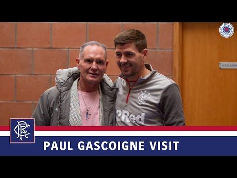 Paul Gascoigne | Training Centre visit | 05 Oct 2019