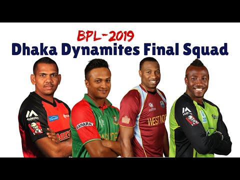 Dhaka Dynamites Final Team Squad| Full Players List| BPL 2018-2019|