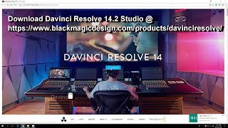 How to use the Dongle in Davinci Resolve14 Where to download Davinci Resolve14 Studio