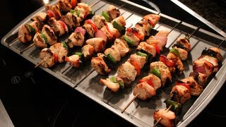 Bodybuilding Grilling:  Low-carb Grilled Chicken Kabobs