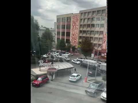 В Ростове автохам перекрыл движение по Доломановскому