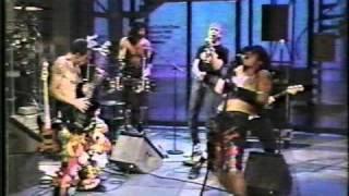 RHCP perform Higher Ground on David Letterman Show