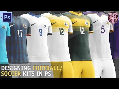 Tutorial: Football/Soccer Kit Design | Photoshop CC by Qehzy