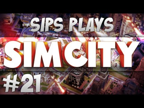 Sips Plays Sim City - Part 21 - Designing a Hellhole