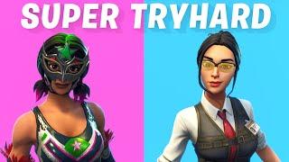 Top 10 Most TRYHARD / Sweaty Skins in Fortnite
