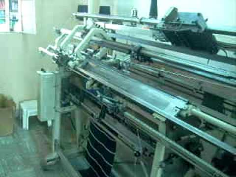Maquinas tejedoras rectilineas youtube for Maquinas para toldos enrollables